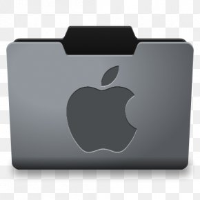 Steel Mac Classy Folder Icon - Macintosh Operating Systems Directory MacOS PNG