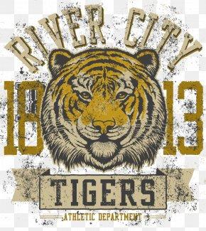 Tiger Print - Tiger T-shirt Textile Printing PNG