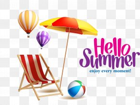 Great,summer - Beach Summer Royalty-free PNG
