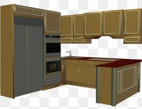 Kitchen Cabinet Cliparts - Kitchen Cabinet Living Room Clip Art PNG