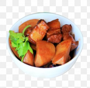 Han Mushroom Flavor Pork - Red Braised Pork Belly Vegetarian Cuisine Korean Cuisine Chinese Cuisine Vegetable PNG