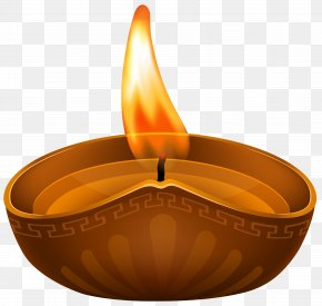 Diwali Candle Transparent Clip Art Image - Candle Clip Art PNG