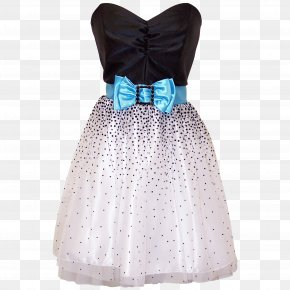Dress - Dress Prom Clothing Bow Tie Fashion PNG