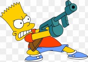 Bart Simpson - Bart Simpson Homer Simpson Mr. Burns Lisa Simpson Maggie Simpson PNG