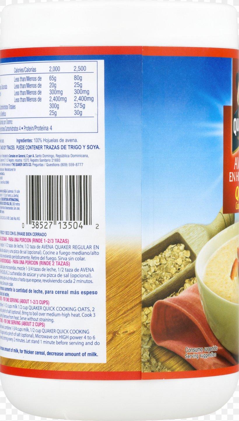 Food Quaker Oats Company Nutrition