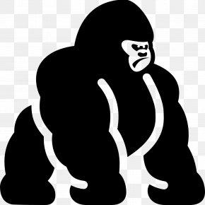 Gorilla - Gorilla Panda Pop Clip Art PNG