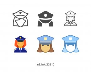 Policeman - Download Font PNG