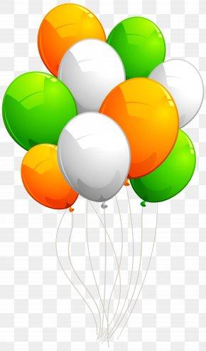 Irish Balloons Transparent Image - Balloon Clip Art PNG