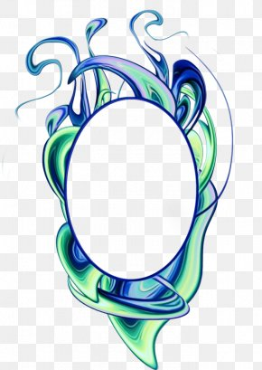 Artist Wet Ink - Circle Design PNG