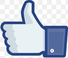 Facebook Like - Social Media Thumb Signal Like Button Facebook Clip Art PNG