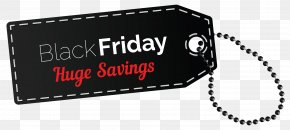 Black Friday Huge Savings Tag Clipart Image - Black Friday Clip Art PNG
