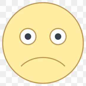 Sad - Emoticon Facial Expression Happiness Smiley PNG
