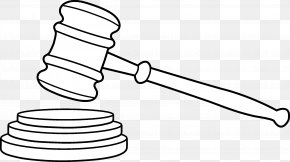 Tree - Gavel Judge Drawing Court Clip Art PNG
