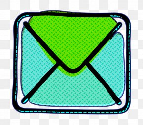 Aqua Green - Communication Icon Contact Icon Email Icon PNG