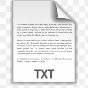 TXT File Icon Text File Icons SoftIconsm - Text File Macintosh Operating Systems Computer File PNG