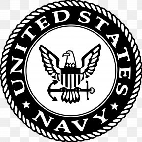 Us Navy Logo - United States Naval Academy United States Navy United States Army PNG