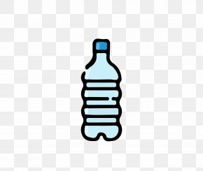 Blue Water Bottle - Bottle Drink Mineral Water PNG