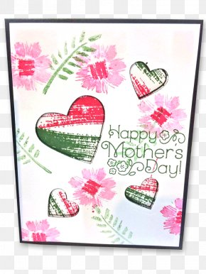 Valentine's Day - Floral Design Paper Greeting & Note Cards Valentine's Day Picture Frames PNG