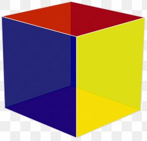 Butte Cube - Rectangle Yellow Purple Violet PNG