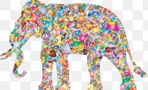 Modern - Elephant Painting Desktop Wallpaper Modern Art Clip Art PNG