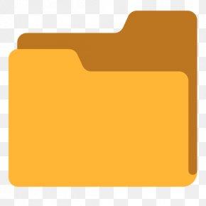 Emoji - Directory Emoji Computer File File Folders Cut, Copy, And Paste PNG