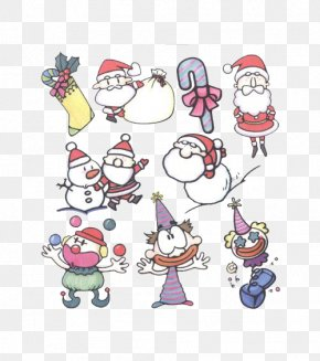 Free Santa Claus Pull All Kinds Of Material - Santa Claus Christmas Decoration Clip Art PNG