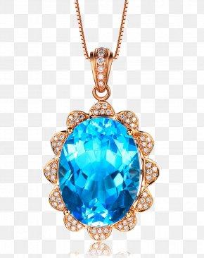 Sapphire Pendant Vector Phnom Penh - Sapphire Necklace Pendant Jewellery Gemstone PNG