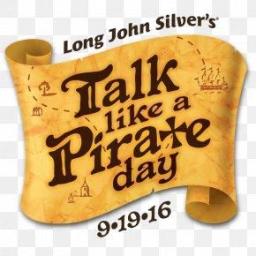 Brass - Brass Instruments 19 September International Talk Like A Pirate Day Font PNG