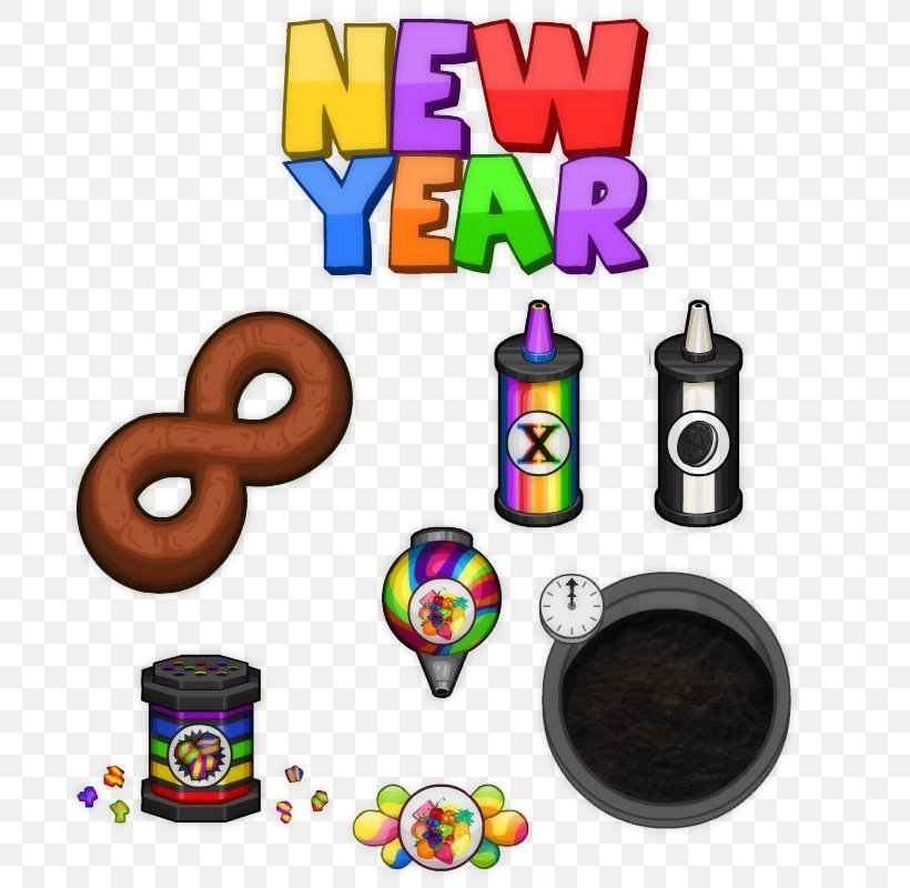 Papa S Bakeria Papa S Freezeria To Go New Year Clip Art Png