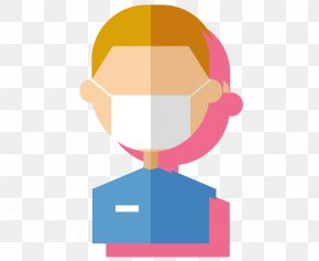 Vector Clothes Officers Wearing Masks Free Pictures - Respirator Clip Art PNG