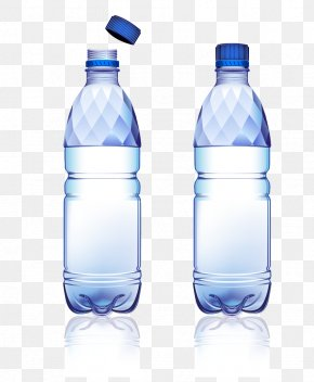 Mineral Water Bottles - Soft Drink Water Bottle Bottled Water PNG