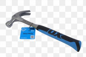 Claw Hammer - Claw Hammer Hand Tool Ball-peen Hammer PNG