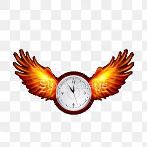 Flying Alarm Clock - Flame U71c3u70e7u7fc5u8180 Download Computer File PNG
