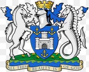 Equine Coat Color - Newport Coat Of Arms Of The Isle Of Wight Crest Flag Of The Isle Of Wight PNG