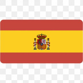Spain - Brand Rectangle Yellow Label Font PNG
