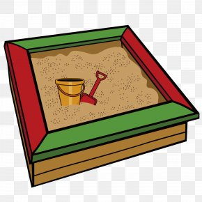 Cartoon Sand Tank - Sandbox Sand Art And Play Clip Art PNG