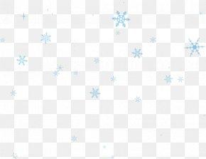 Blue Snowflake Floating - Symmetry Book Verse Pattern PNG