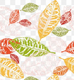 Vector Leaves - Autumn Leaf Color Euclidean Vector PNG