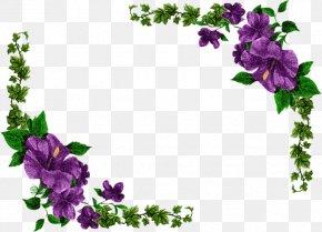 Floral Design Flower Purple Wreath Violet PNG