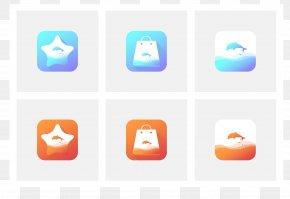 Wind Symbol - Logo Design Vector Graphics Mobile App PNG