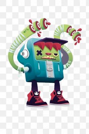 Robot - Rendering Illustration PNG