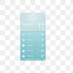 Weather Interface - Weather Interface Widget Icon PNG