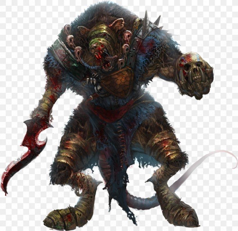 Wererat Dungeons & Dragons Fantasy Skaven, PNG, 824x800px