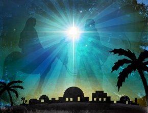 Church Candles - Bethlehem Christmas Card Worship Nativity Of Jesus PNG