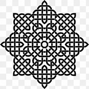 Moslem Pattern - Celtic Knot Celts Clip Art PNG