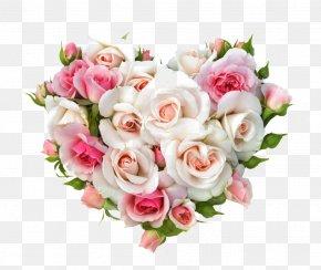 Heart Flower - Flower Bouquet Gift Rose Wedding PNG