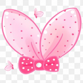 Pink Bow Pattern - Butterfly Pink Clip Art PNG