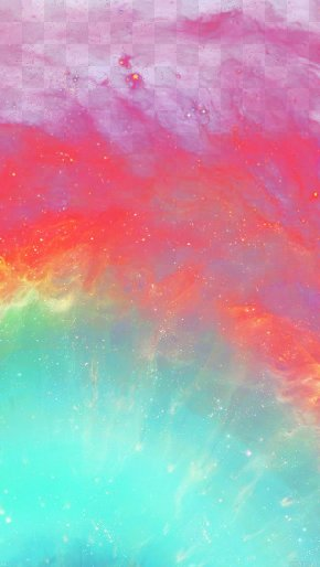 Color Galaxy - Acrylic Paint Watercolor Painting Sky PNG