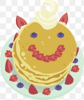 Breakfast Clip Art Pancake - Pancake Clip Art Serabi Blueberry Vector Graphics PNG