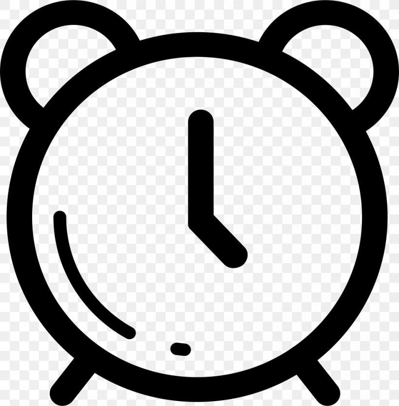 Alarm Clocks Vector Graphics Clip Art, PNG, 980x996px, Alarm Clocks, Area, Black And White, Clock, Digital Clock Download Free